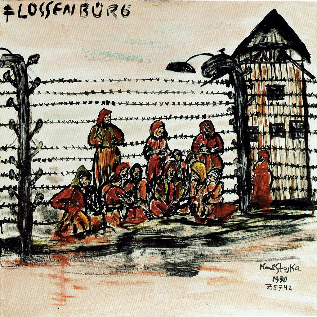 Karl-Stojka-art-as-memory-the-documentary-canvases-of-karl-stojka-a-roma-in-auschwitz-birkenau-sarah-matthias-a-berlin-love-story
